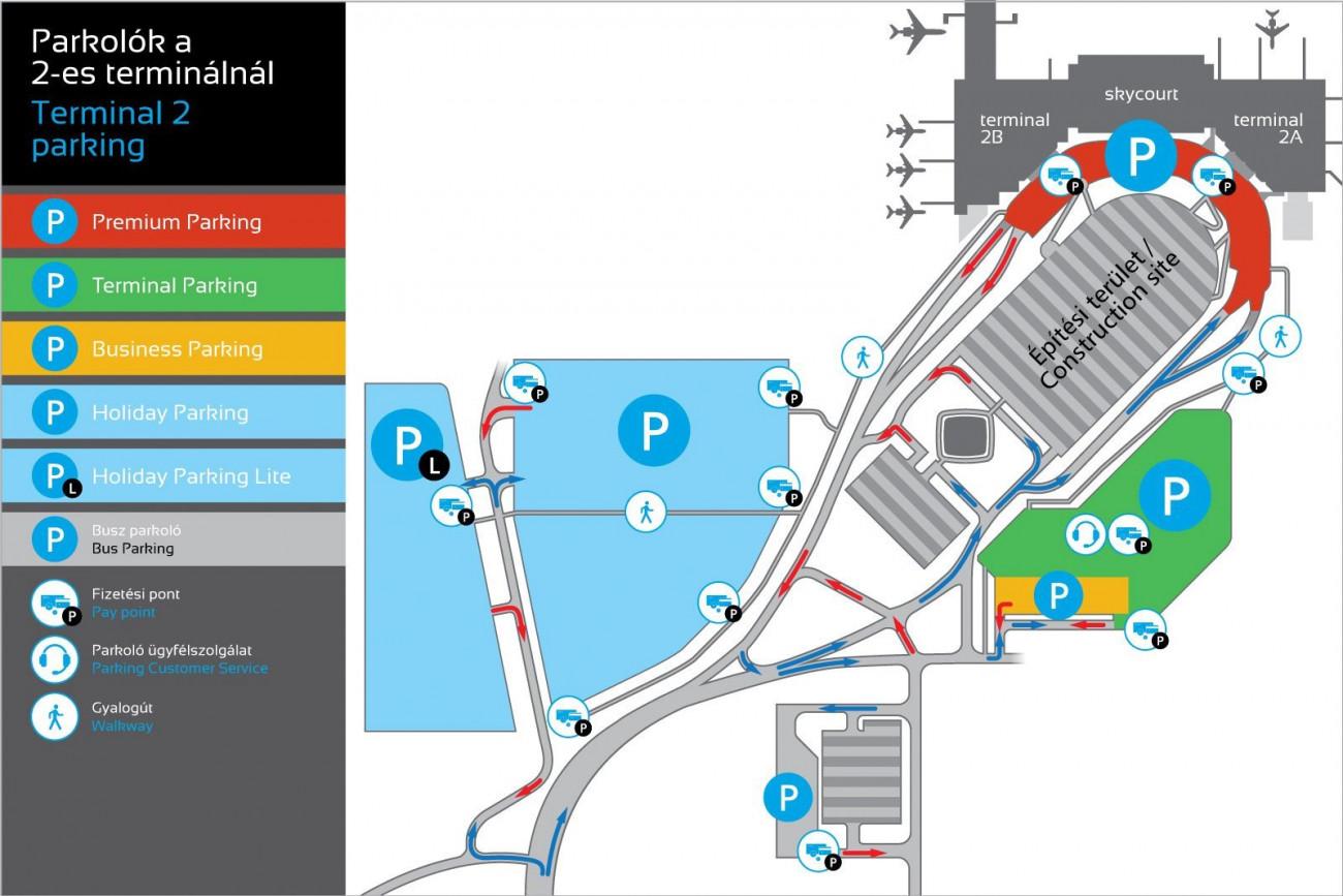 liszt ferenc reptér térkép Átalakul a parkolás a Liszt Ferenc Repülőtéren   Infostart.hu