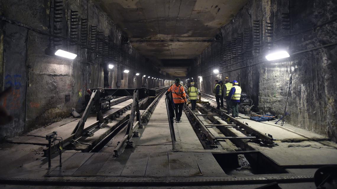 M3 metró felújítás ütemterv