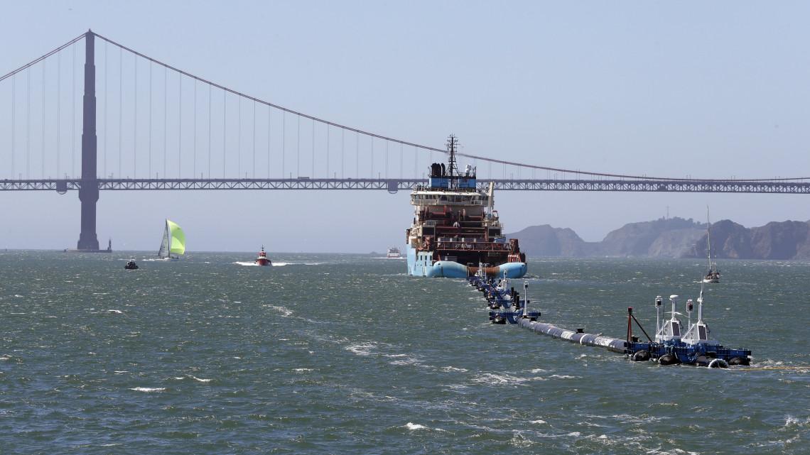 Különleges takarítógépet telepítettek a Csendes-óceánra