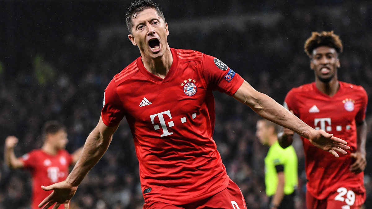A Bayern és Robert Lewandowski megállíthatatlan: két újabb rekord - videó