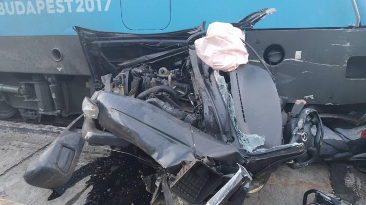 Megrázó fotók a Győrnél történt halálos vasúti balesetről