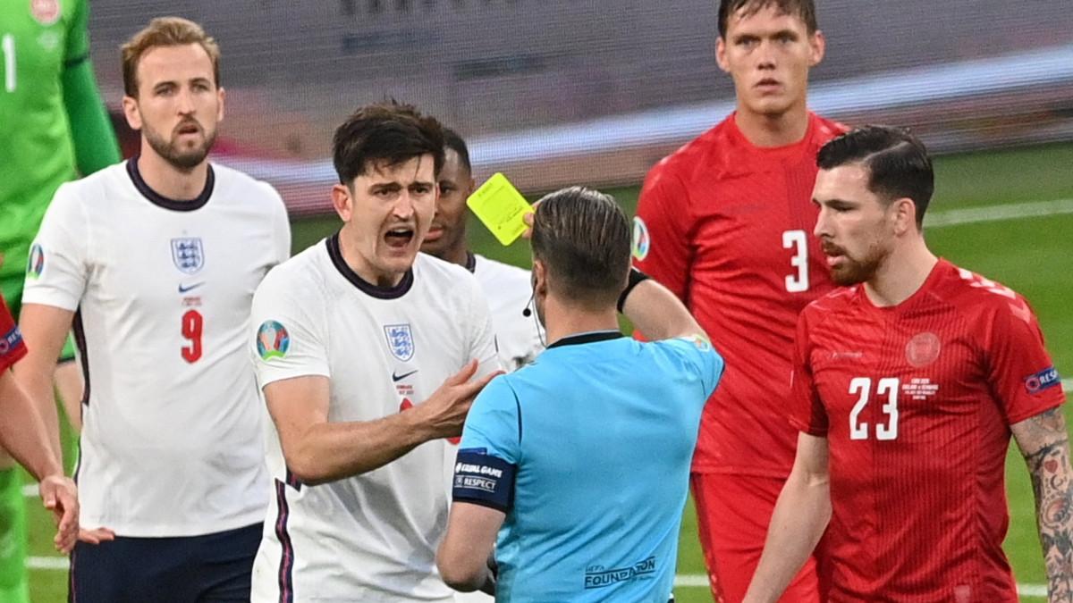 Eltört Harry Maguire apjának bordája a Wembley-ben