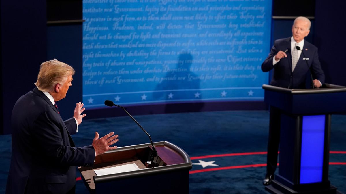 Magyarics Tamás: ha most lenne a választás, Trump megverné Bident